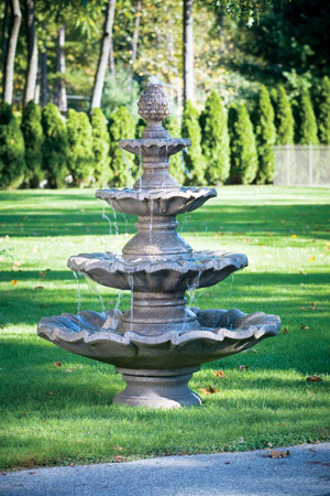 garden stone fountain Massarelli 3305