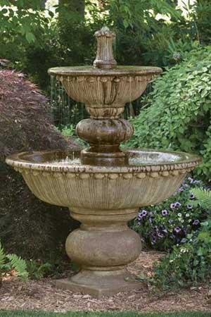garden stone fountain Massarelli 3688