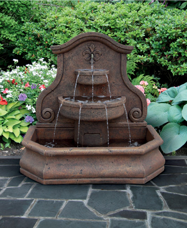 garden stone fountain Massarelli 3714