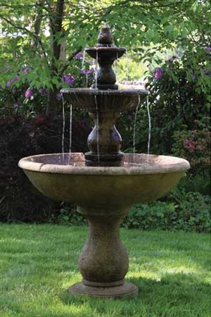 garden stone fountain Massarelli 3780