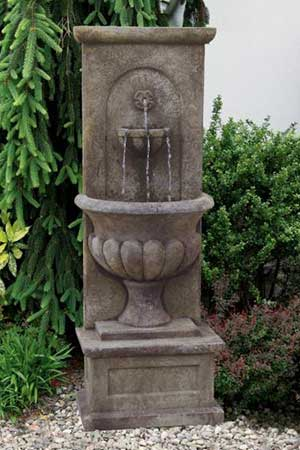 garden stone fountain Massarelli 3862