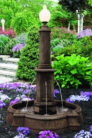 garden stone fountain Massarelli 3866