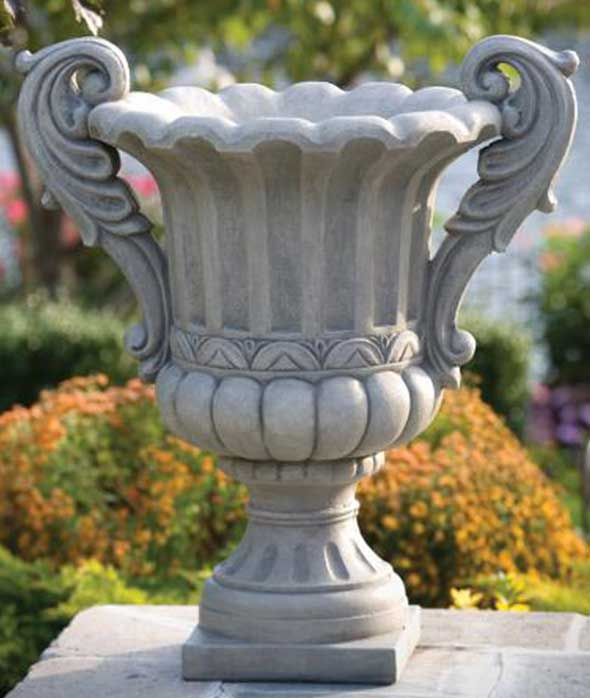 double handled verona urn