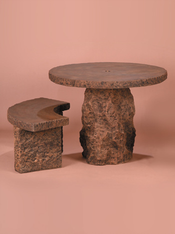 stone table granite round